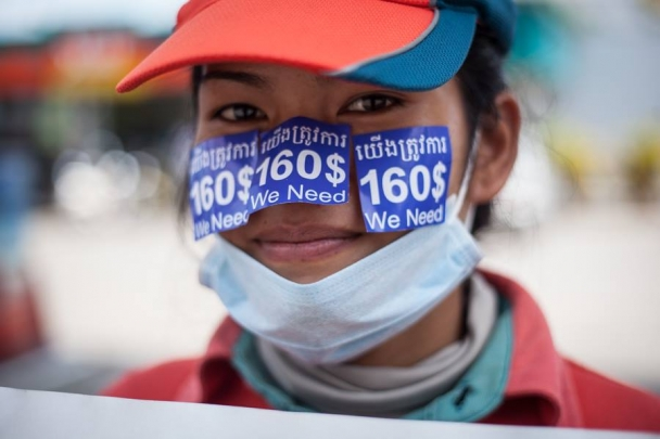 Caltex Strike in Cambodia