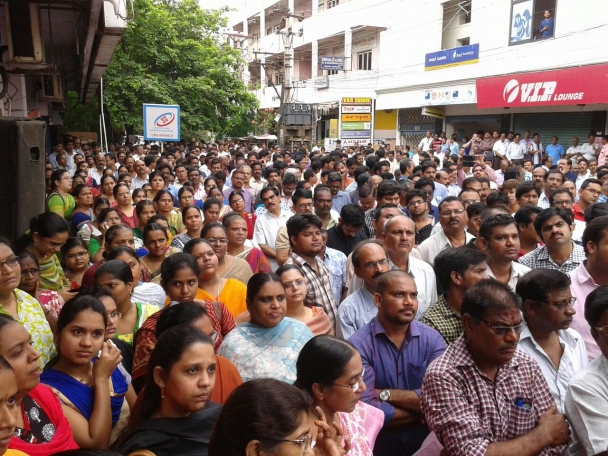 Strike Action Against The Neo Liberal Agenda Across The Indian Banking Sector