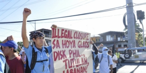 2,600 workers lose jobs following Hoya Glass Disk illegal closure