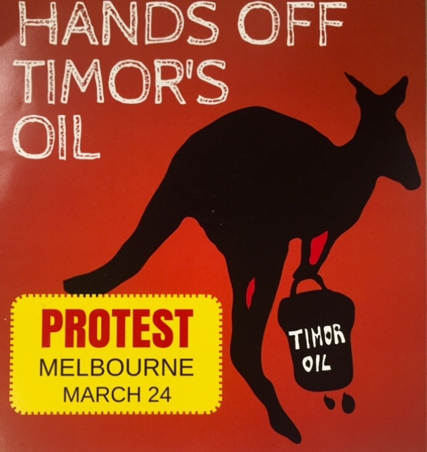 Hand off Timor's oil