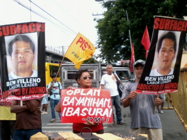 KMU demands surfacing of Southern Tagalog leader