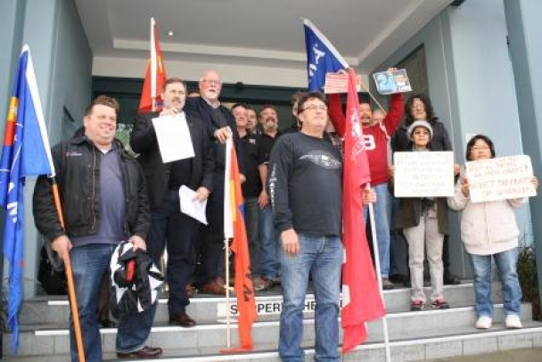 AUSTRALIAN PROTEST AT NXP ABUSE OF FILIPINO UNIONISTS