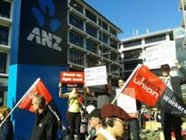 ANZ workers on strike tomorrow across New Zealand