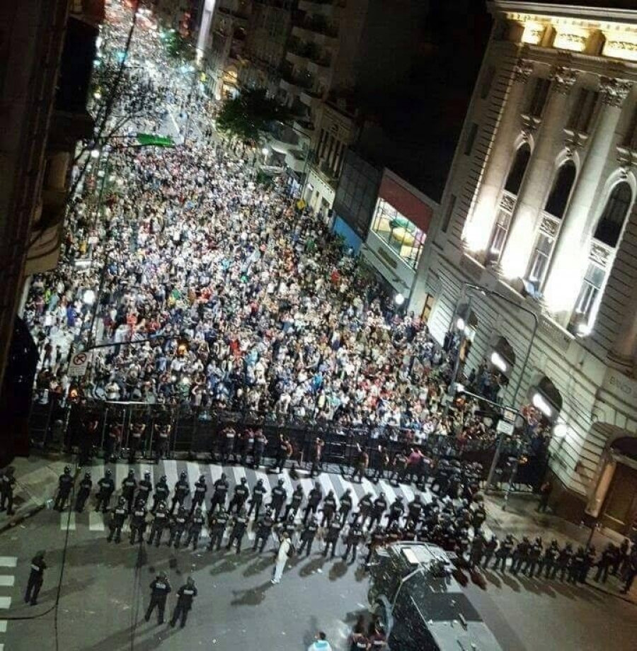 The Government of Mauricio Macri increases institutional violence against the people of Argentina