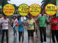 10th Anniversary Hacienda Luisita land dispute in the Philippines